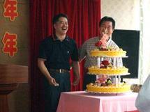 南通工場5周年記念パーティ